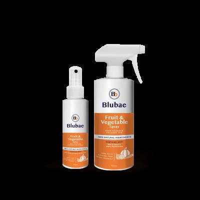 Blubae Australia Blubae-Fruit-Vegetable-Spray-125ml-and-750ml-range